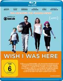 Wish I Was Here (Blu-ray), Blu-ray Disc