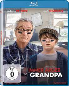 Immer Ärger mit Grandpa (Blu-ray), Blu-ray Disc