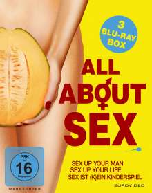 All About Sex (Blu-ray), 3 Blu-ray Discs