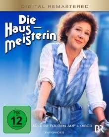 Die Hausmeisterin (Komplette Serie) (Blu-ray), 4 Blu-ray Discs
