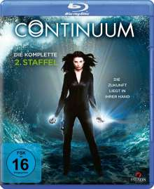 Continuum Staffel 2 (Blu-ray), 2 Blu-ray Discs