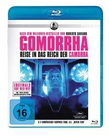 Gomorrha - Reise ins Reich der Camorra (Blu-ray), Blu-ray Disc
