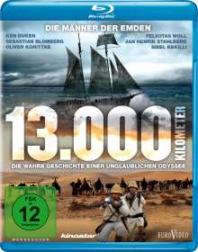 13.000 Kilometer (Blu-ray), Blu-ray Disc