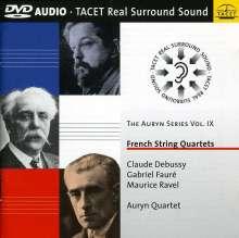 Auryn Quartett - French String Quartets, DVD-Audio