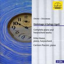 György Ligeti (1923-2006): Sämtliche Klavier- & Cembalowerke, 2 CDs