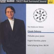 Claude Debussy (1862-1918): Preludes Heft 1 & 2, 2 DVD-Audio