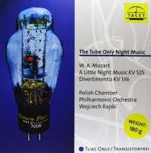"Wolfgang Amadeus Mozart (1756-1791): Serenade Nr.13 ""Kl.Nachtmusik"" (""The Tube Only Night Music"") (180g), LP"