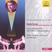 Welte-Mignon Mystery Vol.17 - Edwin Fischer, 2 CDs