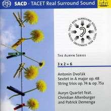 Antonin Dvorak (1841-1904): Streichsextett op.48, Super Audio CD
