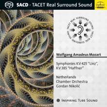 Wolfgang Amadeus Mozart (1756-1791): Symphonien Nr.35 & 36, Super Audio CD