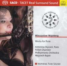 Mieczyslaw Weinberg (1919-1996): Flötenkonzerte Nr.1 & 2 (op.75 & op.148), Super Audio CD
