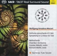 Wolfgang Amadeus Mozart (1756-1791): Symphonie Nr.40, Super Audio CD