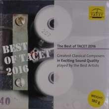 The Best of Tacet 2016 (180g), LP