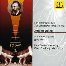 Johannes Brahms auf Welte-Mignon Vol.1, CD