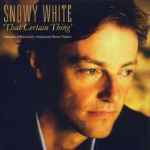 Snowy White: That Certain Thing, CD