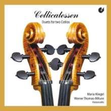 Werner Thomas-Mifune & Maria Kliegel - Cellcatessen, CD