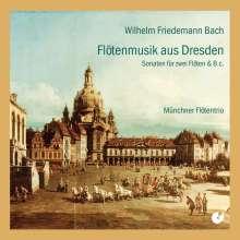 Wilhelm Friedemann Bach (1710-1784): Duette für 2 Flöten F.54,55,57,59, CD