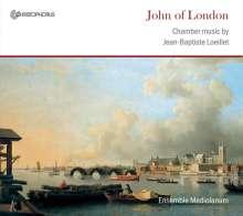John Loeillet (1680-1730): Sonaten Nr.1-6 für Blockflöte & Bc, CD