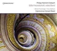 Philipp Heinrich Erlebach (1657-1714): Ouvertüren-Suiten Nr.2 & 4, CD