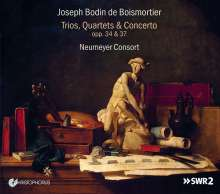 Joseph Bodin de Boismortier (1689-1755): Kammermusik - Trios,Quartette,Concerto, CD