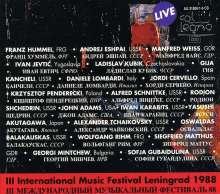 Festival Neuer Musik Leningrad 1988, 6 CDs
