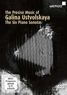 Galina Ustvolskaya (1919-2007): Klaviersonaten Nr.1-6, DVD