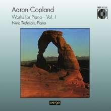 Aaron Copland (1900-1990): Klavierwerke Vol.1, CD