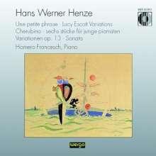 Hans Werner Henze (1926-2012): Klavierwerke, CD