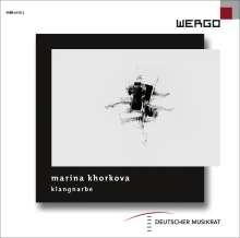 Marina Khorkova (geb. 1981): Klangnarbe, 2 CDs