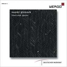 "Naomi Pinnock (geb. 1979): Kammermusik ""Lines and Spaces"", CD"