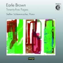 Earle Brown (1926-2002): Twenty-five Pages, CD