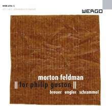 Morton Feldman (1926-1987): Trio For Philip Guston für Flöte,Klavier & Percussion, 4 CDs