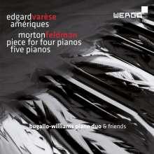 Edgar Varese (1885-1965): Ameriques für 2 Klaviere, CD
