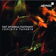 Karl Amadeus Hartmann (1905-1963): Concerto funebre für Violine & Streicher, CD