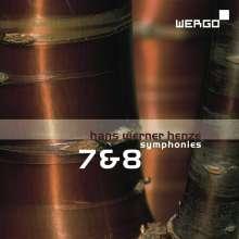 Hans Werner Henze (1926-2012): Symphonien Nr.7 & 8, CD