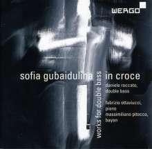 Sofia Gubaidulina (geb. 1931): In Croce für Kontrabass & Bayan, CD
