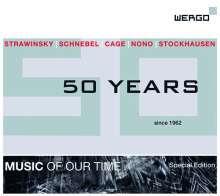 Wergo - 50 Years, 5 CDs
