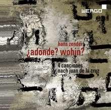 Hans Zender (1936-2019): Adonde? Wohin? für Sopran, Violine & Instrumente, CD