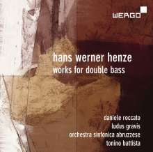 Hans Werner Henze (1926-2012): Kontrabasskonzert, CD