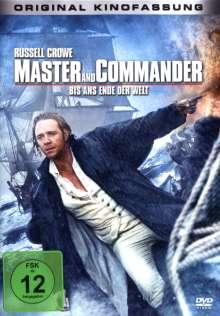 Master and Commander - Bis ans Ende der Welt, DVD