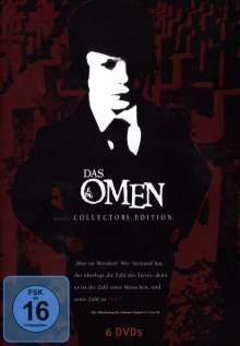 Das Omen I-V (Die komplette Saga), 6 DVDs