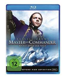 Master and Commander (Blu-ray), Blu-ray Disc