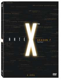 Akte X Season 7, 6 DVDs