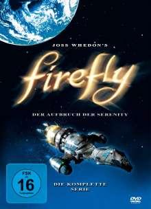 Firefly (Komplette Serie), 4 DVDs