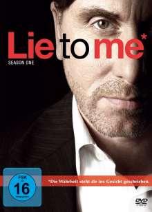 Lie To Me Staffel 1, 4 DVDs