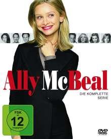 Ally McBeal (Komplette Serie), 30 DVDs