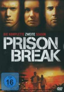 Prison Break Season 2, 6 DVDs