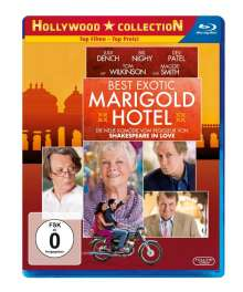 The Best Exotic Marigold Hotel (Blu-ray), Blu-ray Disc