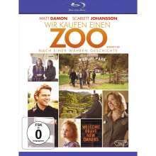 Wir kaufen einen Zoo (Blu-ray), 1 Blu-ray Disc und 1 DVD