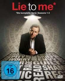 Lie To Me (Komplette Serie), 15 DVDs
